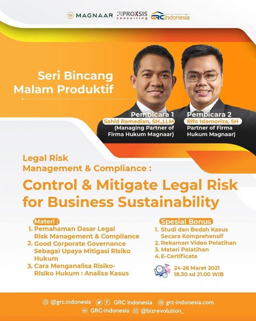 SBMP - Legal Risk Management & Compliance